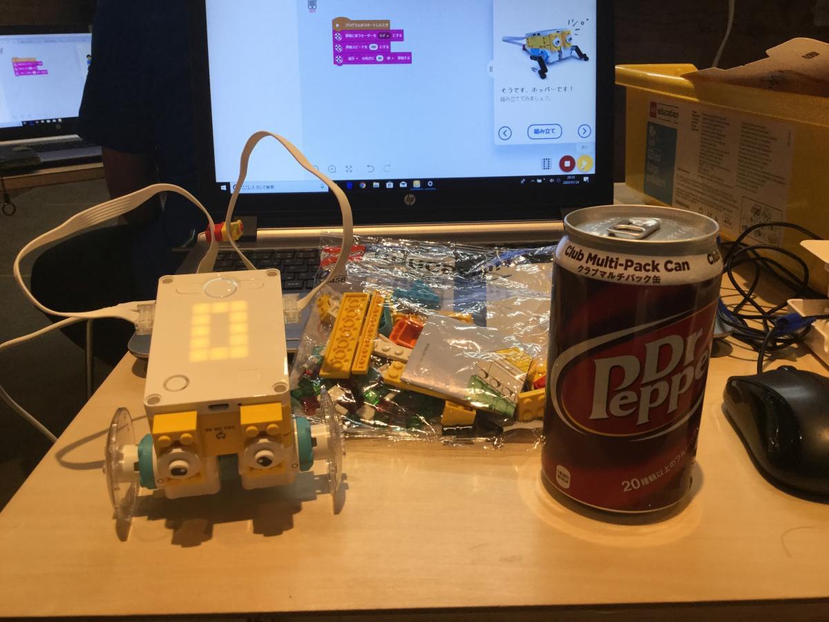 レゴSPIKEプライムはスクラッチに準拠したソフトウエアでプログラミング
